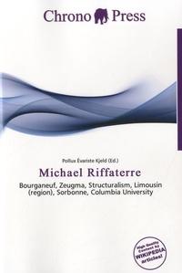 Chrono press - Michael Riffaterre - Bourganeuf, Zeugma, Structuralism, Limousin (region), Sorbonne, Columbia University.
