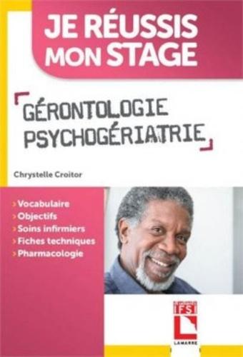 Gérontologie, psychogériatrie