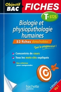 Chrystelle Ménard - Objectif Bac Fiches Bio Physio Term ST2S.