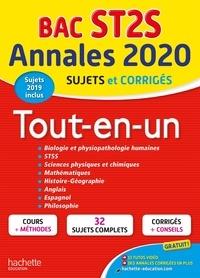 Chrystelle Ménard et Nicolas Céléguègne - Tout-en-un Tle ST2S - Sujets et corrigés.