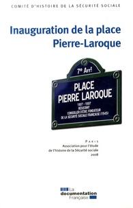 CHSS - Inauguration de la place Pierre-Laroque.
