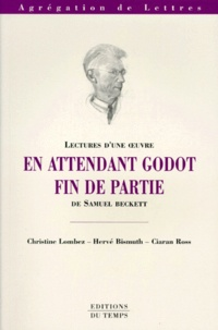 """Ciaran Ross et Christine Lombez - """"En attendant Godot"""", """"Fin de partie"""" de Samuel Beckett."""