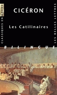 Cicéron - Catilinaires - Edition latin-français.