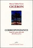 Cicéron - Cicéron Tome II, Lettres 130 à 265 (55-51 av JC) - Correspondance.