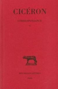 Cicéron - Correspondance - Tome 9.
