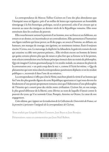 Correspondance. Lettres 1 à 954