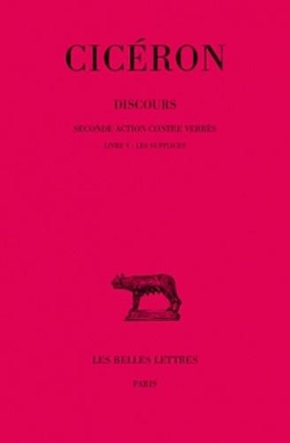 Cicéron - Discours - Tome 6, Seconde action contre Verrès, Livre V : Les supplices.