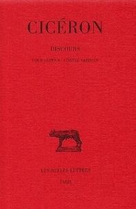 Cicéron - Discours - Tome 4, Pour Sestius - Contre Vatinius.