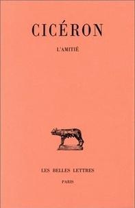 Cicéron - Lélius - De l'amitié.