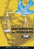 Cicéron - Les Paradoxes des Stoïciens - (A l'attention de Brutus).