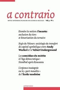 Daniel Meier - A contrario Volume 3 N° 1 : .