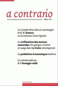 Daniel Meier et Giuseppe Merrone - A contrario Volume 4 N° 1 : .