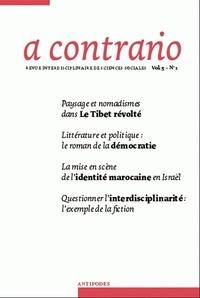 Daniel Meier - A contrario Volume 5 N° 1 : .