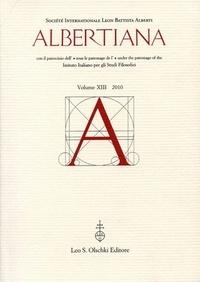 MSH - Albertiana N° 13/2010 : .