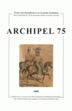 Claudine Salmon et Gilbert Hamonic - Archipel N° 75/2008 : .