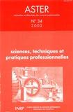 Michel Caillot - Aster N° 34/2002 : Science, techniques et partiques professionnelles.