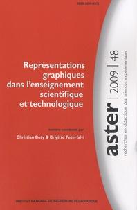 Christian Buty et Brigitte Peterfalvi - Aster N° 48/2009 : Représentations graphiques dans l'enseignement scientifique et technologique.