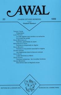 Yacine Tassadit et Lucie Pruvost - Awal N° 20 : Femmes et politique au Maghreb.