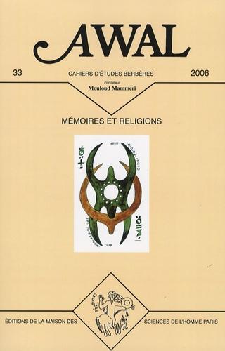 Mohamed Salhi et Wadi Bouzar - Awal N° 33 : Mémoires et religions.