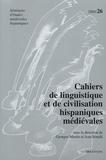 Georges Martin - Cahiers de linguistique et de civilisation hispaniques médiévales N° 26, 2003 : .