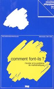 Jean-Claude Guillaume - Comment font-ils ? - L'écolier et le problème de mathématiques.