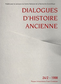 ISTA - Dialogues d'histoire ancienne N° 24/2 - 1998 : .
