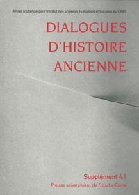 Marie-Rose Guelfucci - Dialogues d'histoire ancienne Supplément 4.1 & 4.2 : Jeux et enjeux de la mise en forme de l'histoire - Recherches sur le genre historique en Grèce et à Rome, 2 volumes.