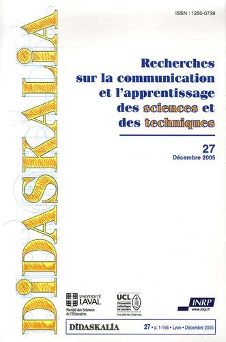 Anonyme - Didaskalia N° 27, décembre 2005 : .