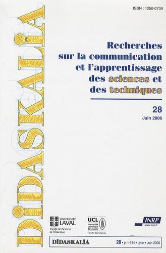 Laurence Viennot et Roja Bagheri-Crosson - Didaskalia N° 28, juin 2006 : .