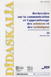 Jean-Charles Lebahar et Valérie Frède - Didaskalia N° 29, décembre 2006 : .