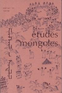 Cems - Etudes mongoles & sibériennes N° 10, 1979 : .