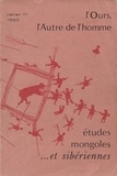 Cems - Etudes mongoles & sibériennes N° 11, 1980 : L'ours, L'Autre de l'homme.