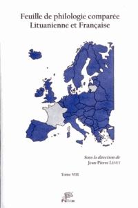 Feuille de philologie comparée lituanienne et française N° 8.pdf