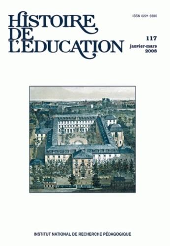 Pierre Caspard et Annie Bruter - Histoire de l'éducation N° 117, Janvier-Mars : .