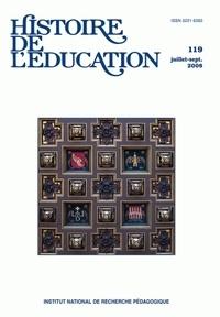 Pierre-Yves Donzé et Antoine Prost - Histoire de l'éducation N° 119, Juillet-sept : .