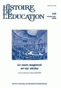 Annie Bruter - Histoire de l'éducation N° 120, octobre-déce : .