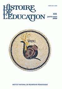 Pierre Caspard et Annie Bruter - Histoire de l'éducation N° 121, Janvier-Mars : .