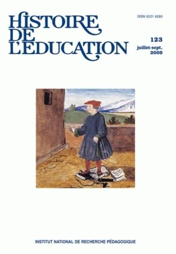 Pierre Caspard et Annie Bruter - Histoire de l'éducation N° 123, Juillet-Sept : .