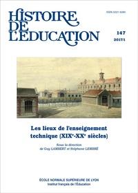 Histoire de léducation N° 147/2017.pdf