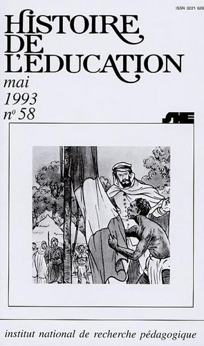 Alain Choppin - Histoire de l'éducation N° 58, Mai 1993 : Manuels scolaires, Etats et sociétés - XIXe-XXe siècles.