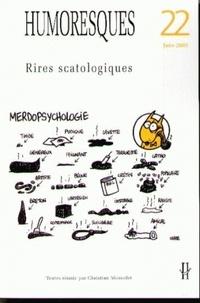 Judith Stora-Sandor et Nelly Feuerhahn - Humoresques N° 22 : Rires scatologiques.