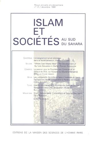 MSH - Islam & sociétés au sud du Sahara N° 13/1999 : .