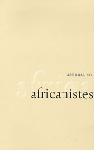 Vincent Dehoux et Hélène Pagezy - Journal des africanistes N° 76, fascicule 2 : .
