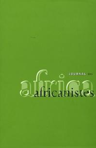 Paulette Roulon-Doko et Pascal Bacuez - Journal des africanistes N° 77, fascicule 1 : .