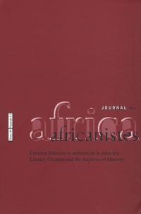 Paulette Roulon-Doko - Journal des africanistes N° 80, fascicule 1-2 : .