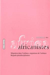 Paulette Roulon-Doko - Journal des africanistes N° 81, Fascicule 2 : Migration dans l'enfance, migrations de l'enfance - Regards pluridisciplinaires.