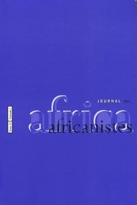 Luc Pecquet - Journal des africanistes N° 83, fascicule 2 : .