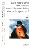 Laurent Bazin - Journal des anthropologues N° 124-125, 2011 : Les rapprots des sexes sont ils solubles dans le genre ?.
