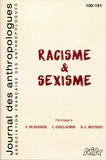 Annie Benveniste - Journal des anthropologues N° 150-151/2017 : Racisme & sexisme.