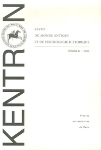 Jacquy Chemouni et Bernard Deforge - Kentron N° 21/2005 : .